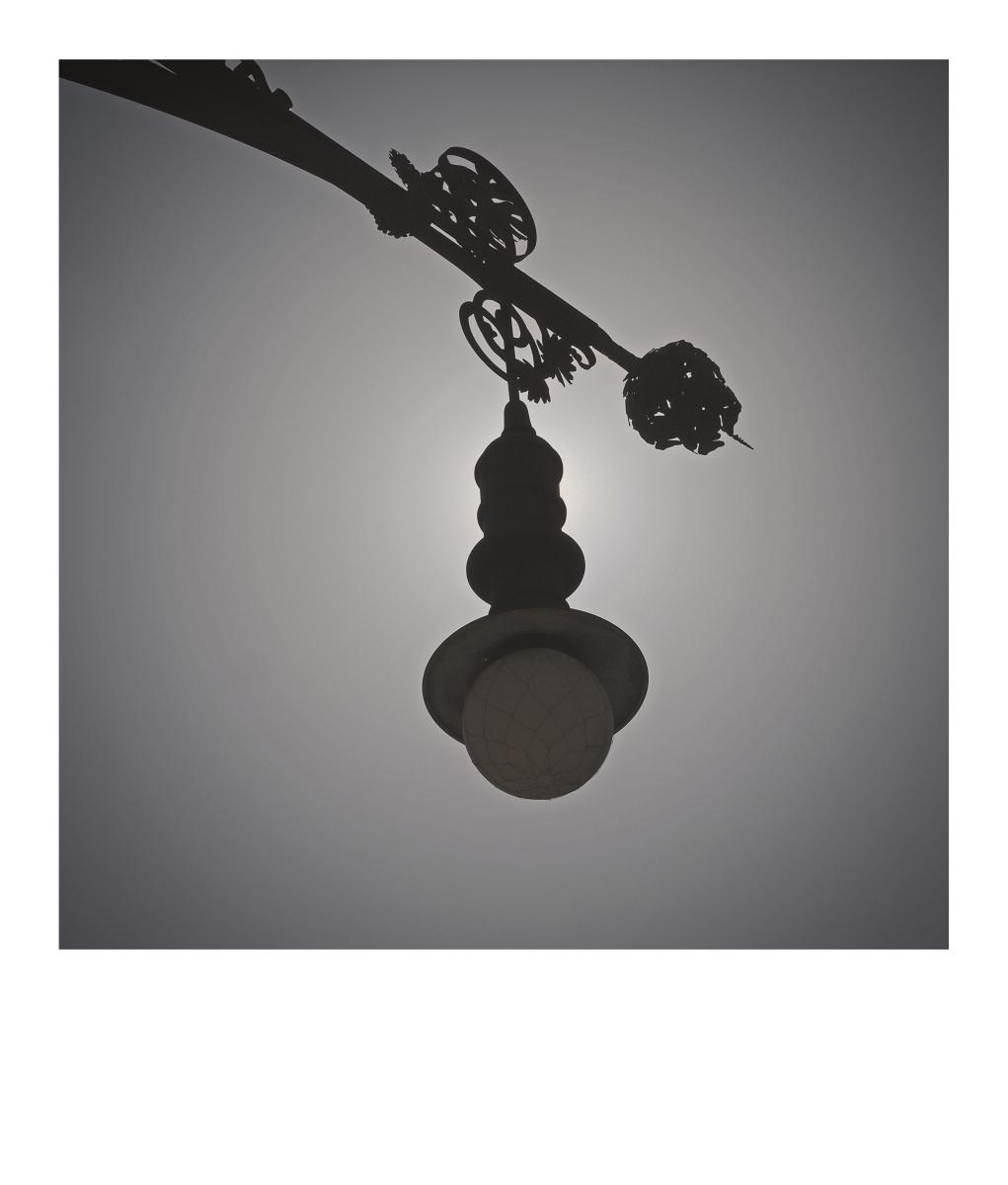 Lantern on Passeig de Gràcia
