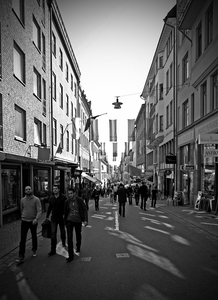 Reflections on Drottninggatan