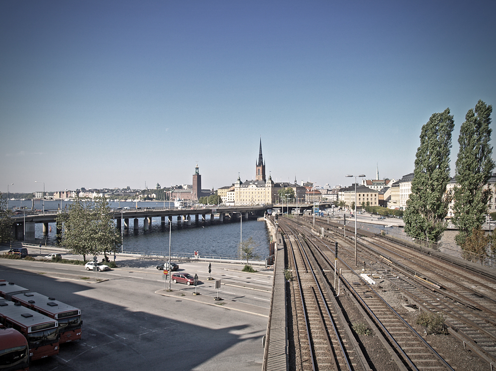 View to Gamla Stan