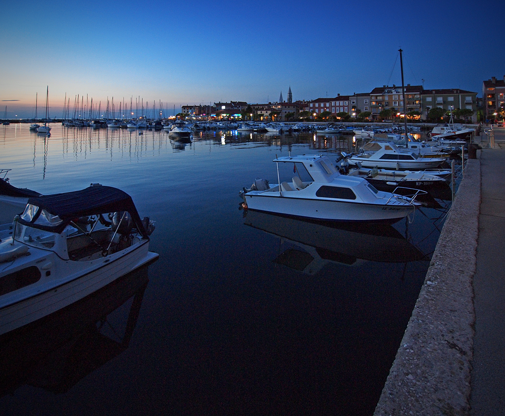 Izola Harbour @ Night
