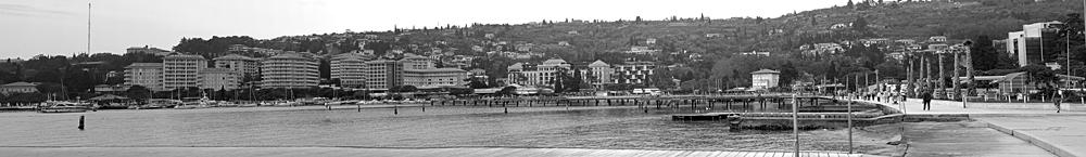Panorama Portorož Black&White