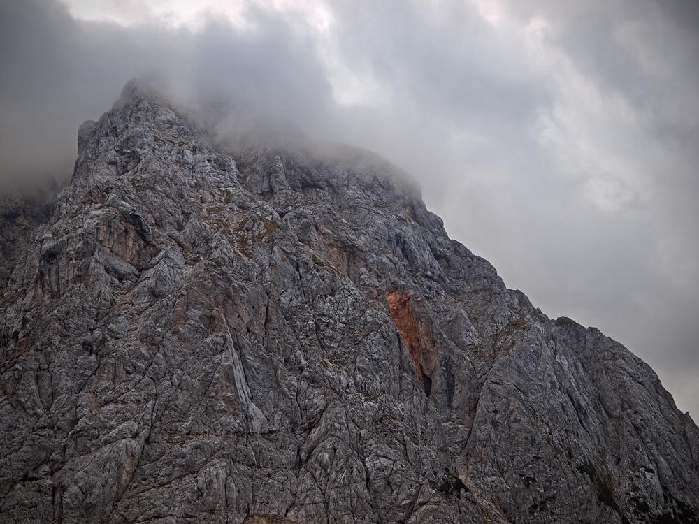 Clouds over Prisojnik
